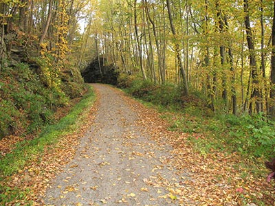 Hop River Rail Trail, Vernon, CT